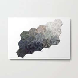 Origami One-Two-Oh Metal Print
