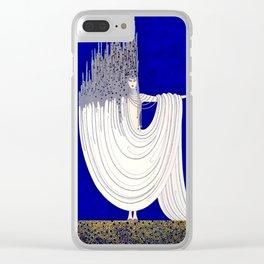 """North Sea"" Art Deco Design by Erté Clear iPhone Case"