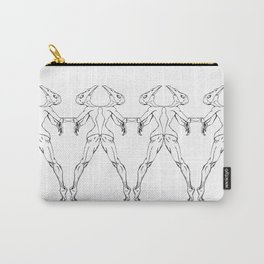 Mirrored Emotion Carry-All Pouch