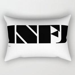 Type Type for INFJ Rectangular Pillow