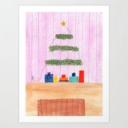 Simple Christmas Art Print