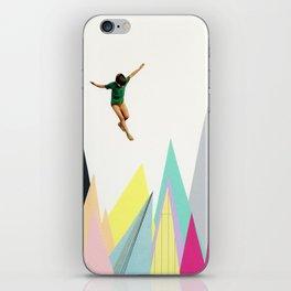 Mountain Jump iPhone Skin