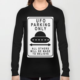 UFO Parking Long Sleeve T-shirt