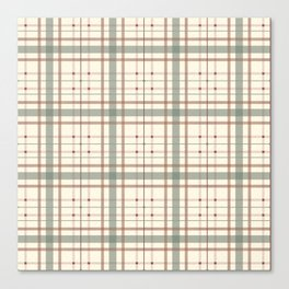 AFE Tartan Pattern Canvas Print