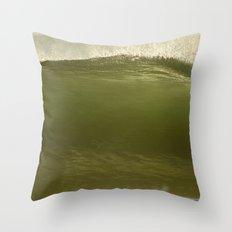 Verde Tubo Throw Pillow