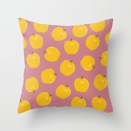 Apple-y Ever After Throw Pillow