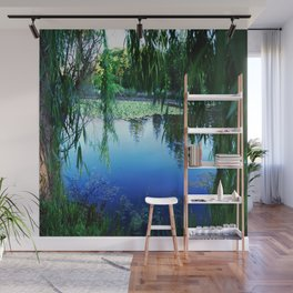 Reflections on the lake Wall Mural