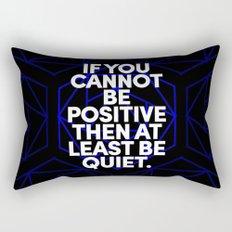 Joel Osteen Quote Rectangular Pillow