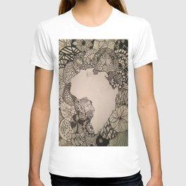 Zentangle Africa T-shirt