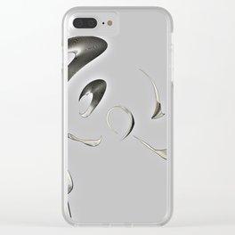 Broken/Glass Clear iPhone Case