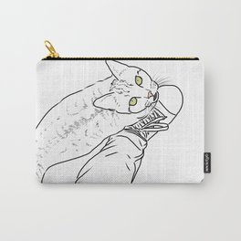 Everything I know I learned from my cat Carry-All Pouch