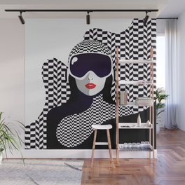 The Lady of the Alps Wall Mural