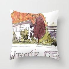 Moss Street Throw Pillow