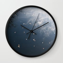 beauty in filth Wall Clock