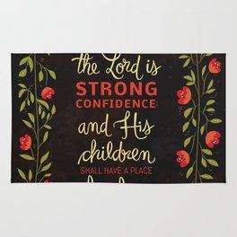 Proverbs 14:26 Rug