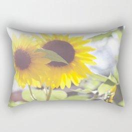 August Sunflower Rectangular Pillow
