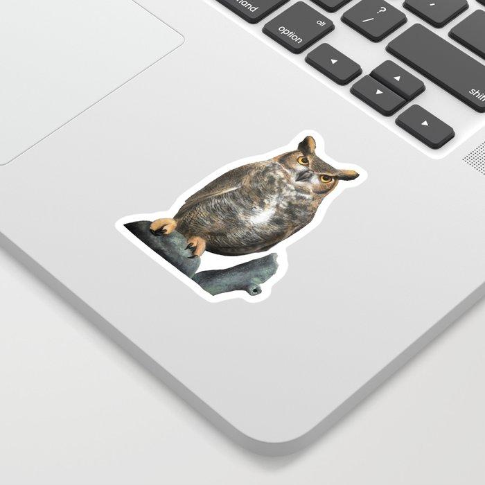 Superb Owl Sunday Sticker