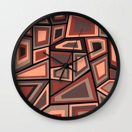 Midcentury Tango Wall Clock