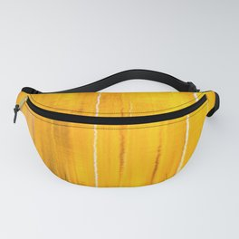 Autumn colors reflecting on the lake surface #decor #buyart #society6 Fanny Pack