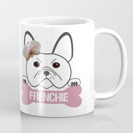 French Girl with Bone Coffee Mug