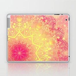 Mandala in Rose and Lemon Laptop & iPad Skin