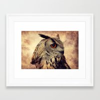elmo Framed Art Prints featuring Elmo V by Astrid Ewing