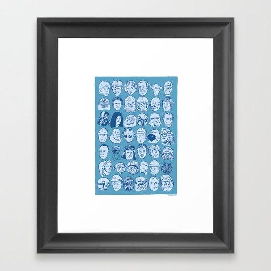 SWkrew Framed Art Print