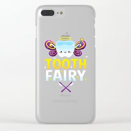 halloween costume tooth fairy Clear iPhone Case