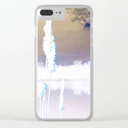 Blast Off Clear iPhone Case