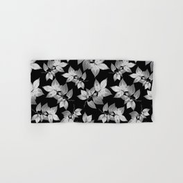 Elegant Leaves Hand & Bath Towel