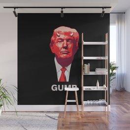 Trump the Gump Wall Mural