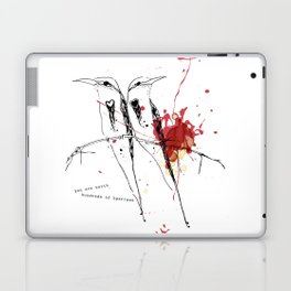 you are worth hundreds of sparrows Laptop & iPad Skin