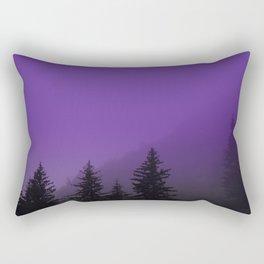 Ultra Violet Fog - Seward Alaska Rectangular Pillow
