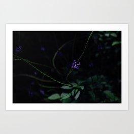 Hint of Purple Art Print
