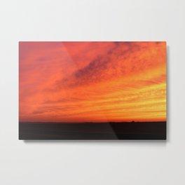 Sweeping Sunset 1 Metal Print