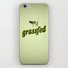 Grassfed iPhone & iPod Skin