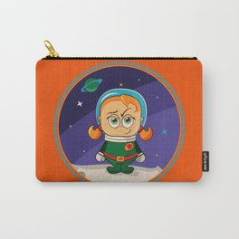 Zoe Conquers The Moon Carry-All Pouch