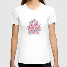 Pink Flower bunch T-shirt