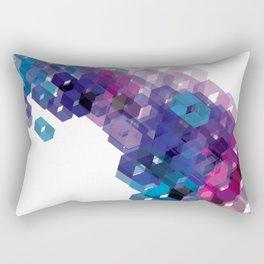 3D-blocks Rectangular Pillow