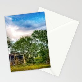 Country Garage Stationery Cards
