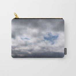 Dove in Clouds Carry-All Pouch