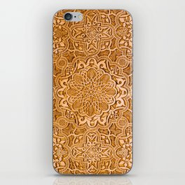 Alhambra lace carving iPhone Skin