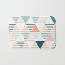 Modern Geometric Bath Mat