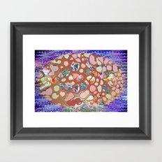 Bubble Bath Framed Art Print