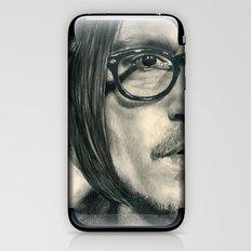 Secret Window Traditional Portrait Print iPhone & iPod Skin