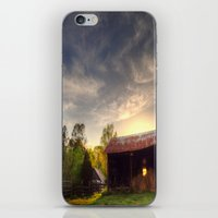 tennessee iPhone & iPod Skins featuring Tennessee Sunset by Terbo