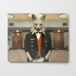 WELCOME TO OUR HOTEL Metal Print