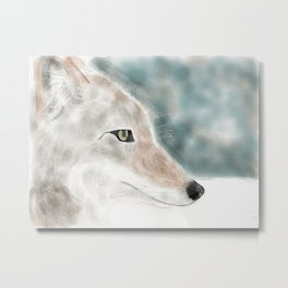 Coyote Metal Print