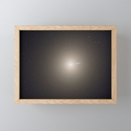 Hubble Space Telescope - Artist's rendition of the core of M31 (2005) Framed Mini Art Print
