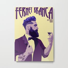 Fernet Branca new age Metal Print